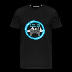 LVL15 CityscapeNeon - Men's Premium T-Shirt