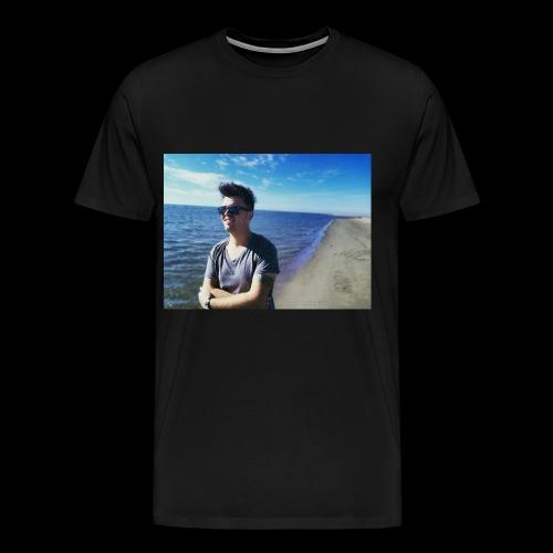 Point Blur Feb212018 111739 - Men's Premium T-Shirt