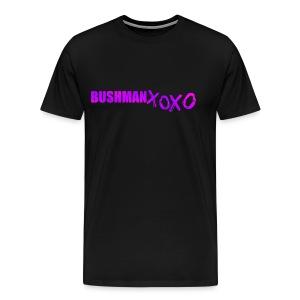BUSHMAN XOXO - Men's Premium T-Shirt