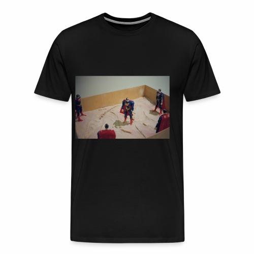 Negative Supermen - Men's Premium T-Shirt