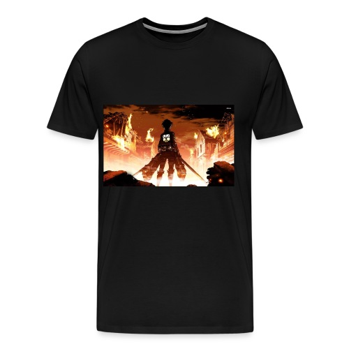 Attack of the titan - Men's Premium T-Shirt