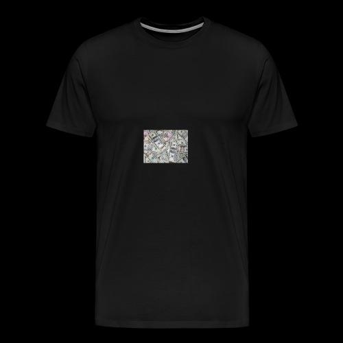 rich pepole all pepole - Men's Premium T-Shirt
