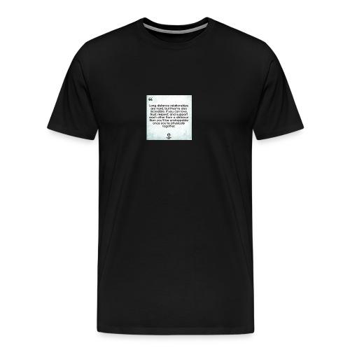 for my gf chloe - Men's Premium T-Shirt