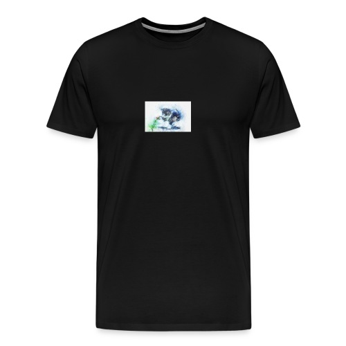 slowly touch - Men's Premium T-Shirt