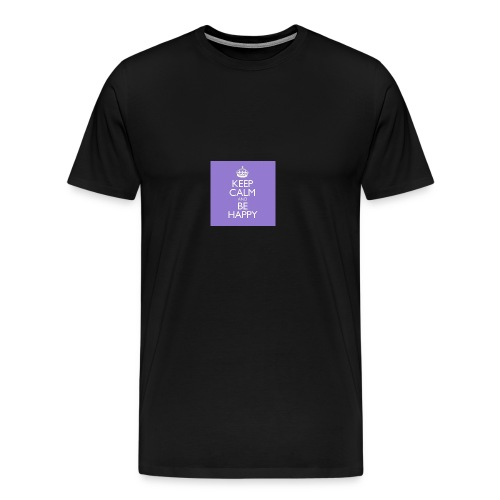 Keep Calm bottle - Men's Premium T-Shirt