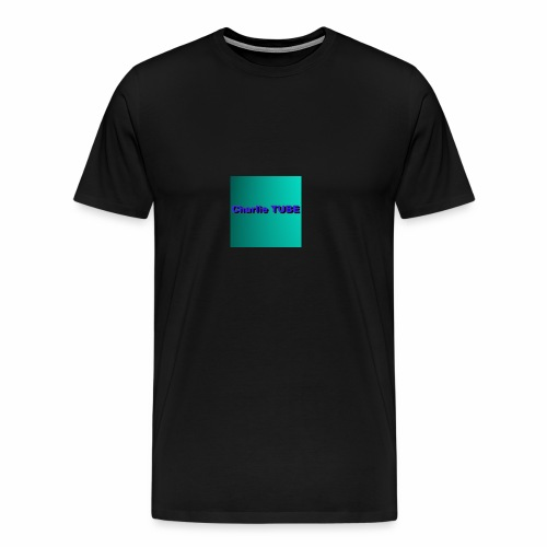 Charlie TUBE pp - Men's Premium T-Shirt