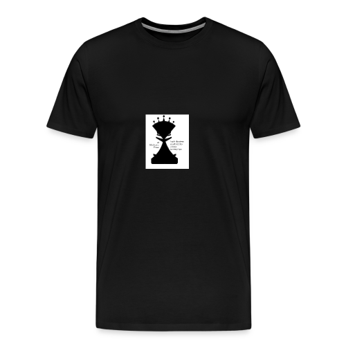 LogoImage2WordsLarge - Men's Premium T-Shirt