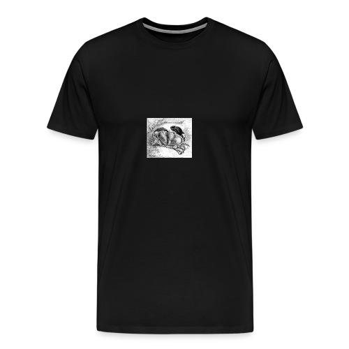 Crab Drawing - Men's Premium T-Shirt