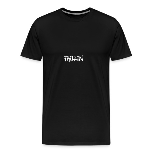 Frillin text transparent - Men's Premium T-Shirt