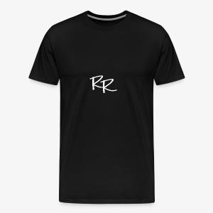 Raymond Rahner - LOGO2 White - Men's Premium T-Shirt