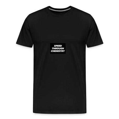 Speed Through Chemistry - Men's Premium T-Shirt