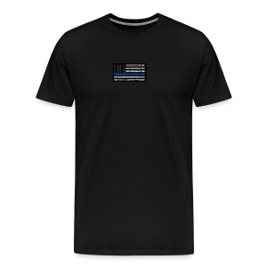 I stand behind the men in blue - Men's Premium T-Shirt