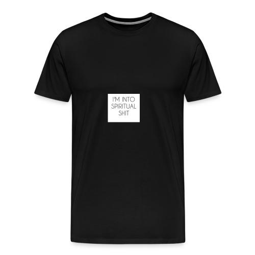 Spiritual shit - Men's Premium T-Shirt