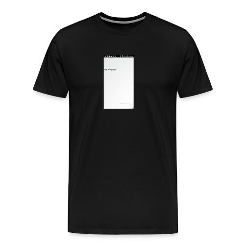 Screenshot 2017 07 24 06 45 37 - Men's Premium T-Shirt