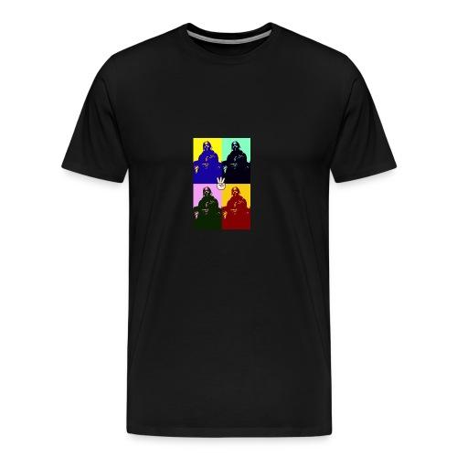 2018 gangsta life - Men's Premium T-Shirt