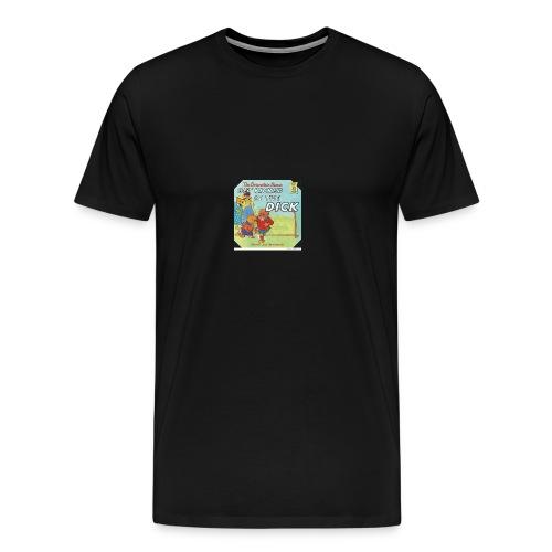 kicked in the dick - Men's Premium T-Shirt