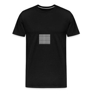 black and white - Men's Premium T-Shirt