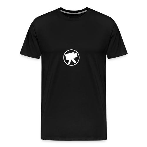 logo_wit_videotijd - Men's Premium T-Shirt