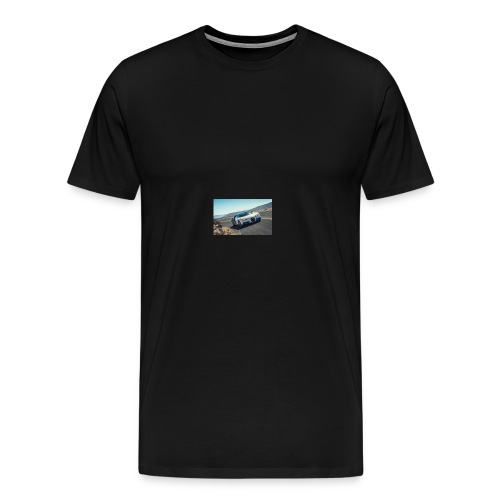 2017 bugatti chiron first ride review car and driv - Men's Premium T-Shirt