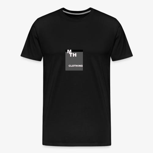 mth clothing co best in black - Men's Premium T-Shirt
