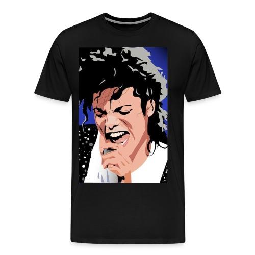 Micheal Jackson Cartoon Tee - Men's Premium T-Shirt