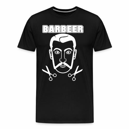 Barber 01 - Men's Premium T-Shirt
