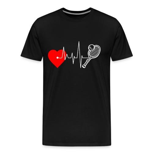 I love Tennis - Men's Premium T-Shirt