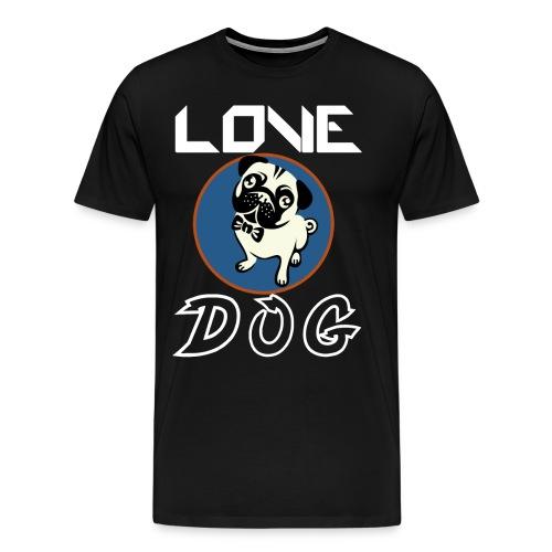 dog is love - Men's Premium T-Shirt