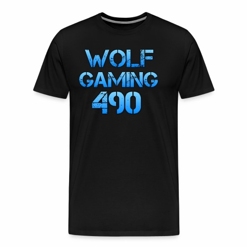 Wolfgaming490 Logo - Men's Premium T-Shirt