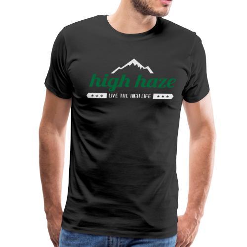 High Haze Logo - Men's Premium T-Shirt