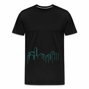Cityscape - Men's Premium T-Shirt