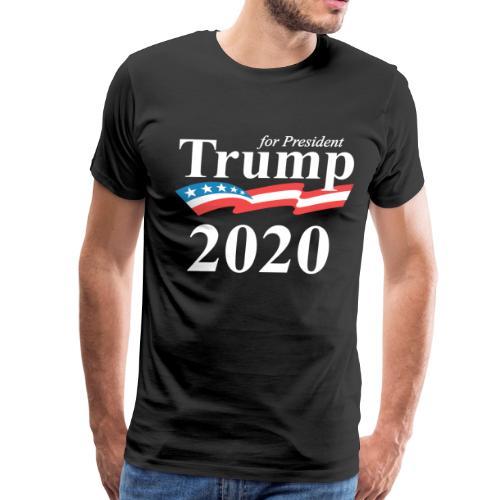 Trump for president 2020 - Men's Premium T-Shirt