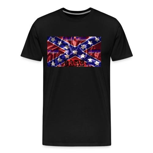 Confederate Pride 1 - Men's Premium T-Shirt