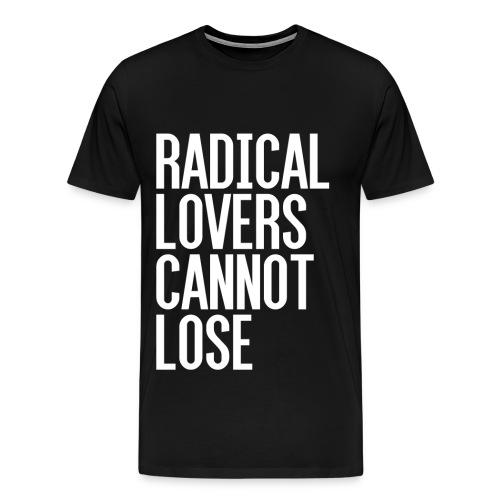 Radical Lovers White Type - Men's Premium T-Shirt