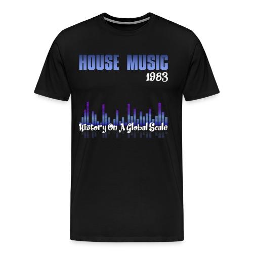 House music 1983 - Men's Premium T-Shirt