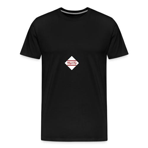 Mystify Logo #3 - Men's Premium T-Shirt