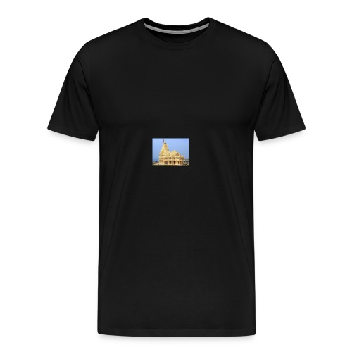 Jyotirling temple - Men's Premium T-Shirt