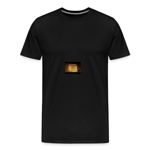 the power and mercy of allah true story mufti menk - Men's Premium T-Shirt