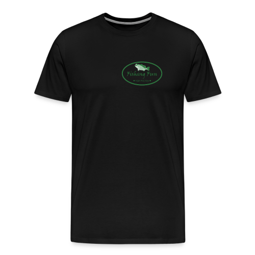Fishing Fun Logo - Men's Premium T-Shirt