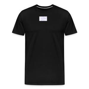 name tag - Men's Premium T-Shirt
