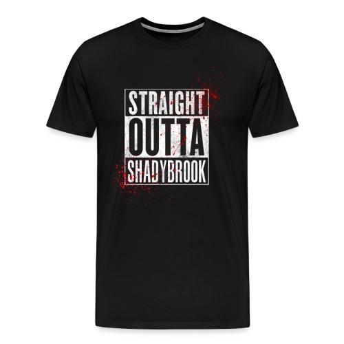 Straight Outta ShadyBrook - Men's Premium T-Shirt