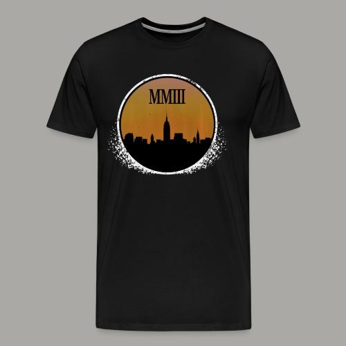 Blackout (Weathered) - Men's Premium T-Shirt