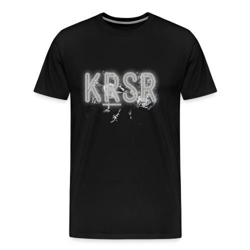 KRSR Album Cover - Men's Premium T-Shirt