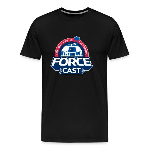 FORCE CAST LOGO - Men's Premium T-Shirt