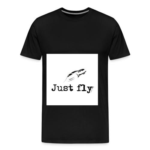 just fly - Men's Premium T-Shirt