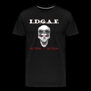 IDGAF - Men's Premium T-Shirt
