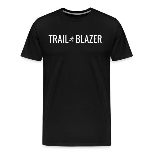 Trail Blazer Unisex Running Shirt - Men's Premium T-Shirt