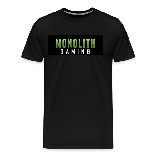 Monolith Gaming Logo - Men's Premium T-Shirt