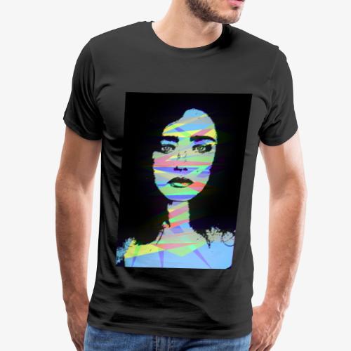 Crystal Color Girl - Men's Premium T-Shirt