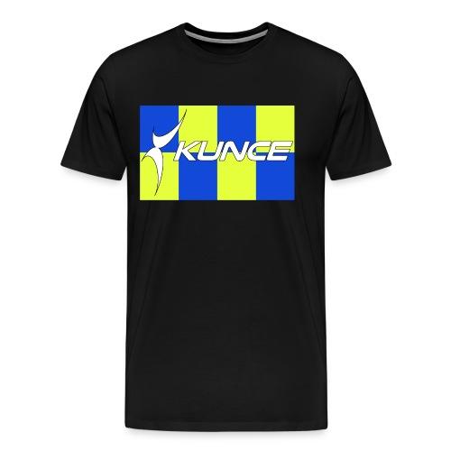 Kunce Clothing Original High Visibility Battenberg - Men's Premium T-Shirt